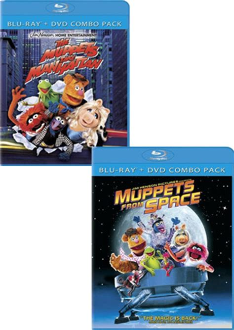 Muppets from Space + Muppets Take Manhattan (Blu-ray