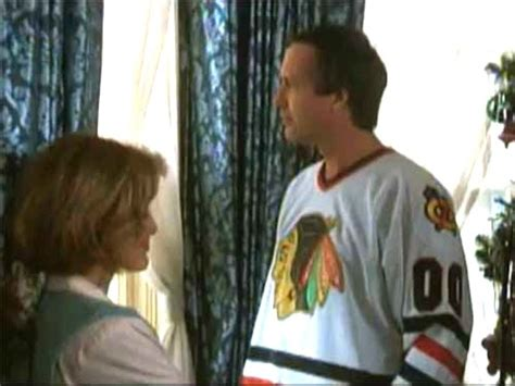 Christmas Vacation Movie Clark Griswold 00 White Hockey