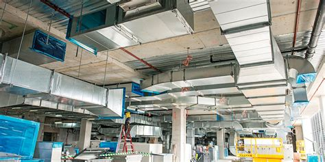 Case Study - Acoustic and Thermal Insulation for HVAC Ducts