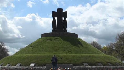 German Military Cemetery at La Cambe, Normandy - YouTube