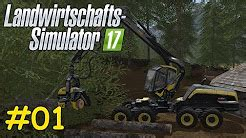 Let's Play LS17 Forstwirtschaft - YouTube