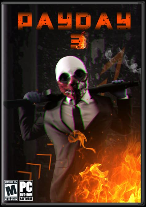 Payday 3 PC Box Art Cover by Flashback