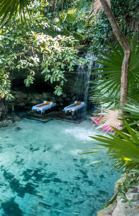 Xcaret, Quintana Roo, Mexico - The spa at Xcaret - It
