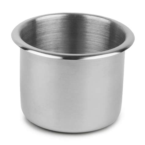 Stainless Steel Poker Table Cup Holder Small | Drinkstuff