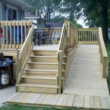 front porch steps and ramp
