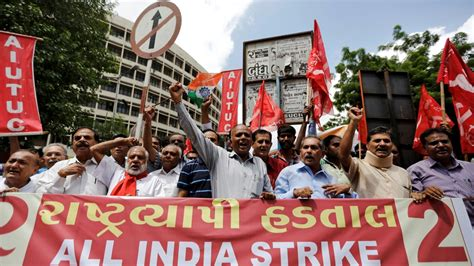 Millions of Indian workers strike for better wages | India