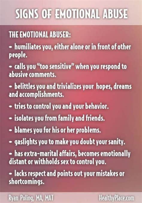Signs of an Abusive Relationship – and How to Survive