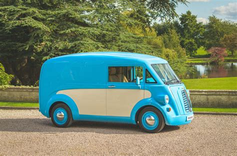 Morris Commercial revived with 1940s-style electric van