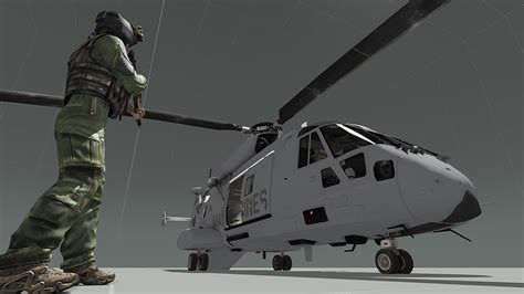 """Template : """"USMC"""" CH-49 Mohawk by PennyWize74 - Editing"""
