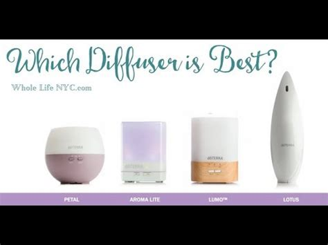 Best Essential Oil Diffuser   Doterra Diffuser Review