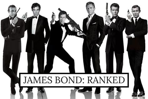The James Bond Movies Ranked in 2020 (With images)   James