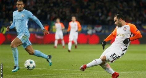 UCL: Shakhtar hand Man City 1st loss in 29 matches   Citi