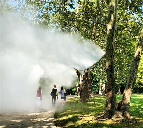 Fujiko Nakaya's Fog Sculptures Are Here and They Are