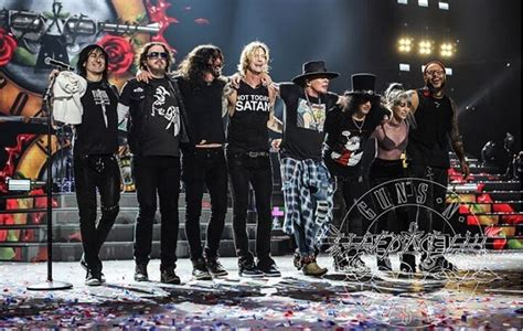 Guns N' Roses Ongoing Tour Now Ranks as Fourth Highest