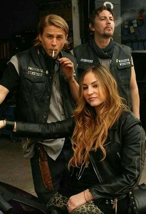 Jax Teller with ex-wife Wendy - Son of Anarchy   Sons of