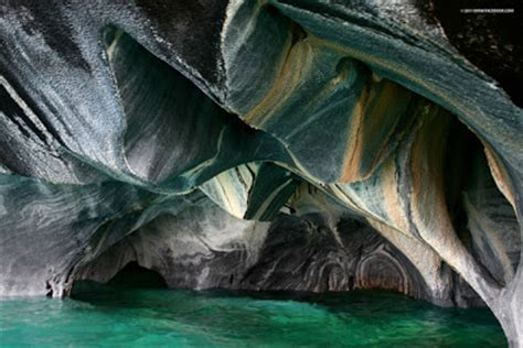 Marble Caves, Chile Chico, Chile ~ The Amazing World