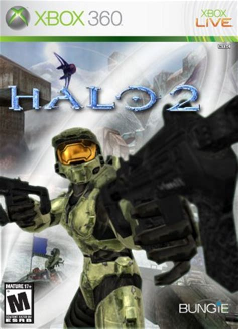 Halo 2 Xbox 360 Box Art Cover by Prophet