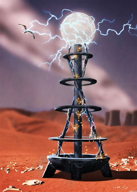 Tesla Coil picture, by greymval for: kavia bowl photoshop