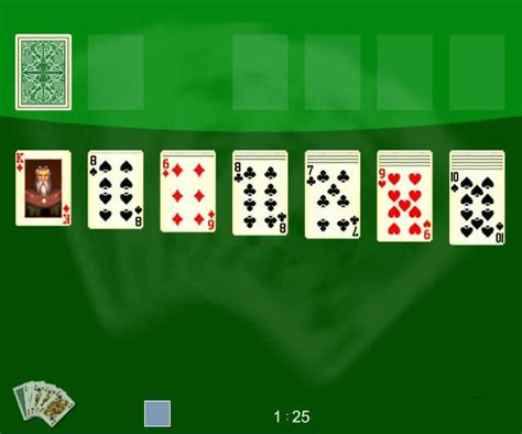 Solitaire 1 spel - FunnyGames