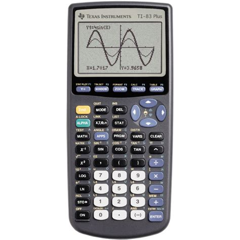 Texas Instruments TI-83 Plus Graphing Calculator by Texas