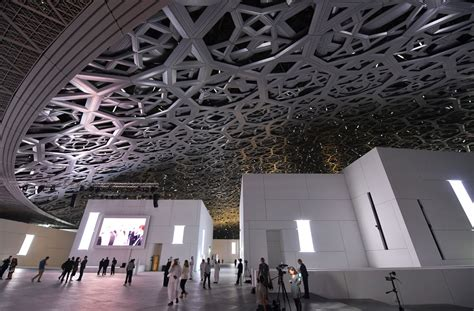 In photos: First Louvre Abu Dhabi museum opens its doors