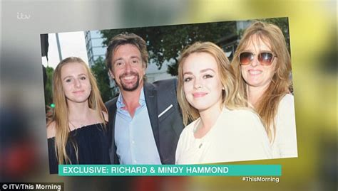 Richard Hammond's wife reveals he is on his last chance