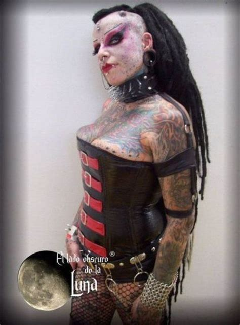 Scary Looking Goth Woman (11 pics) - Izismile