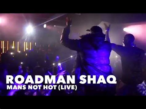 Big Shaq Brought Out @ Live Show - Performs 'MANS NOT HOT