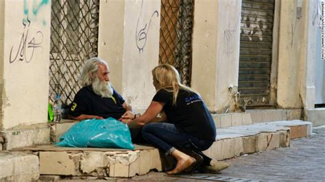 Greece crisis: Sleeping on the streets of Athens