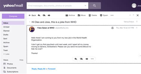 How coronavirus scammers sent fake emails from the WHO - Vox