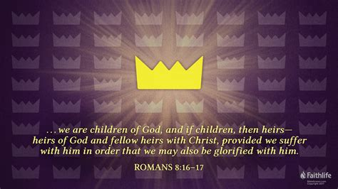 Romans 8:16-17 Memorize   Commentary and Meaning   Video