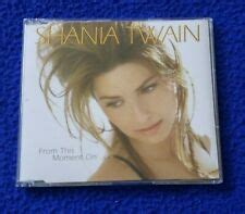 Shania Twain - From This Moment On UK Promo CD Single w