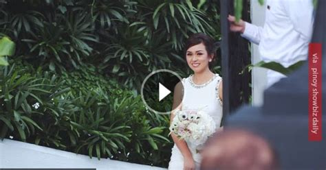 Beauty Gonzalez's wedding video will give you the feels