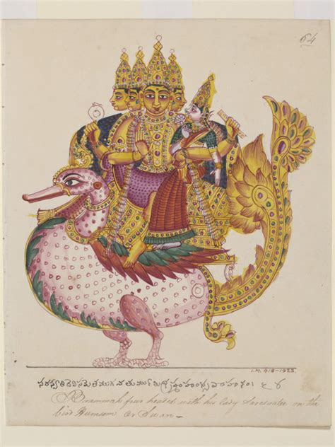 Brahma (Painting) | V&A Search the Collections