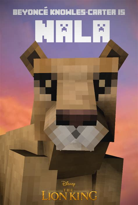 The Lion King Minecraft - Wallpapers and art - Mine-imator