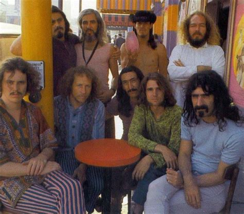 The Mothers of Invention Standing: Roy Estrada, Bunk