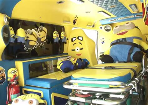 WATCH: Minion-themed ambulance hits the road in Thailand