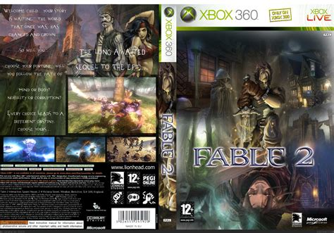 Fable 2 Xbox 360 Box Art Cover by