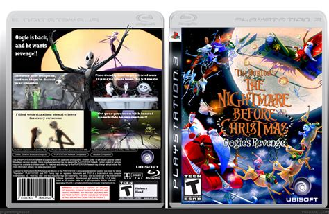 The Nightmare Before Christmas PlayStation 3 Box Art Cover