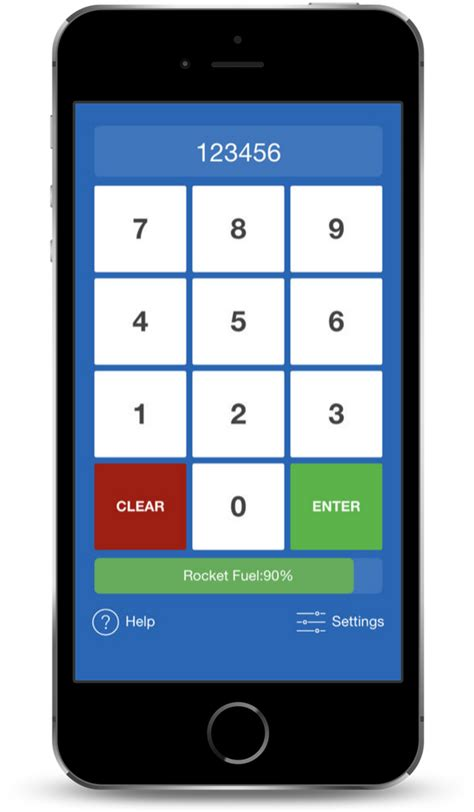 Lunch Code - Cafeteria Key Pad Simulator App for Students