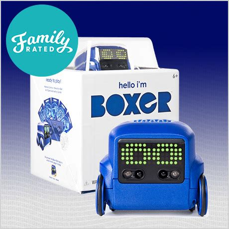 New Offer on FamilyRated: Boxer the AI Interactive Robot Toy