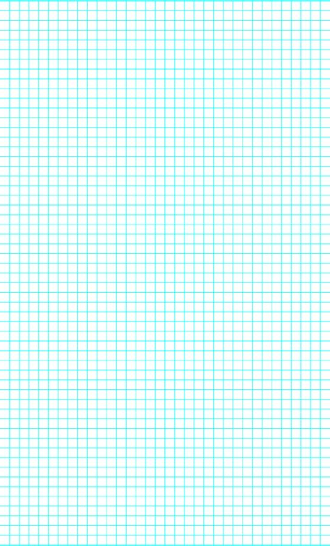 4 Lines per Inch Graph Paper on Legal-Sized Paper Free