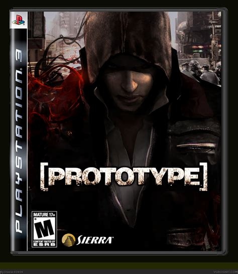 Prototype PlayStation 3 Box Art Cover by Cheese