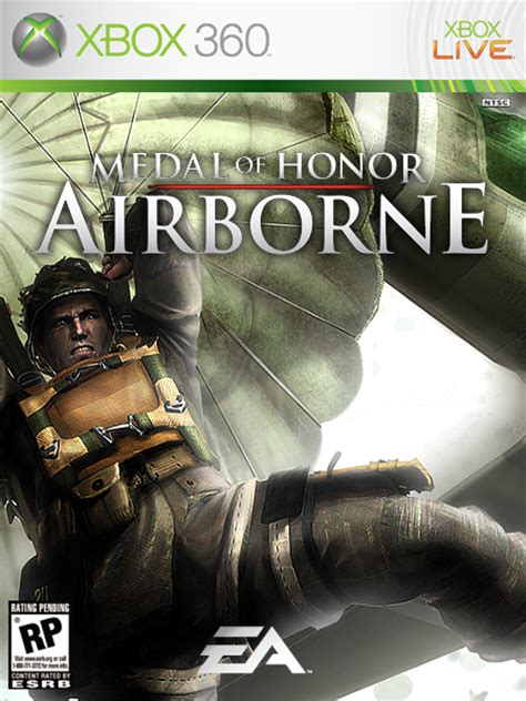 Medal Of Honor: Airborne Xbox 360 Box Art Cover by