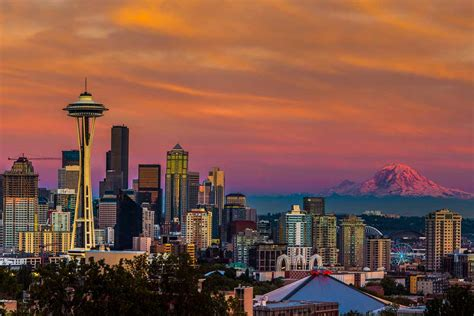 Seattle: futuristic innovation-hub of the Pacific North