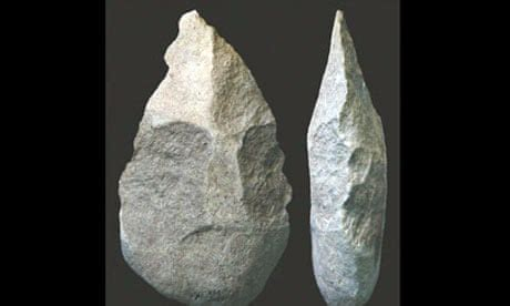 Hand axes unearthed in Kenya are oldest advanced stone
