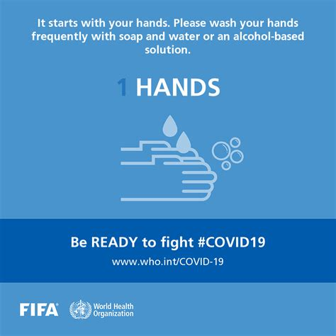 Pass the message: Five steps to kicking out coronavirus