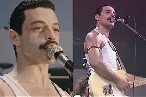 See 'Bohemian Rhapsody' Cast Side by Side With Queen at