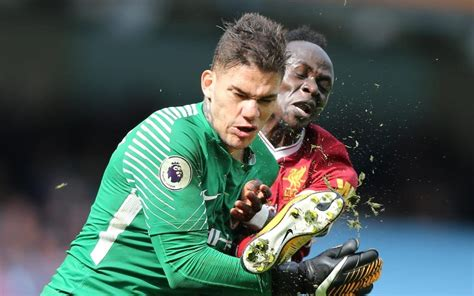 Sadio Mane issues classy apology to Ederson following