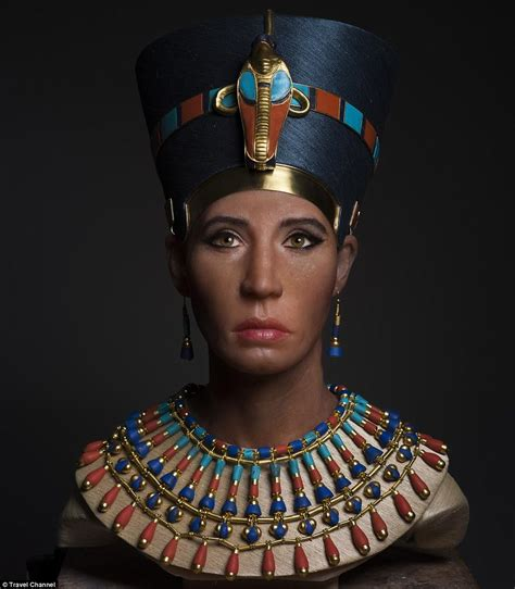 Face of Queen Nefertiti brought to life with 3D scans